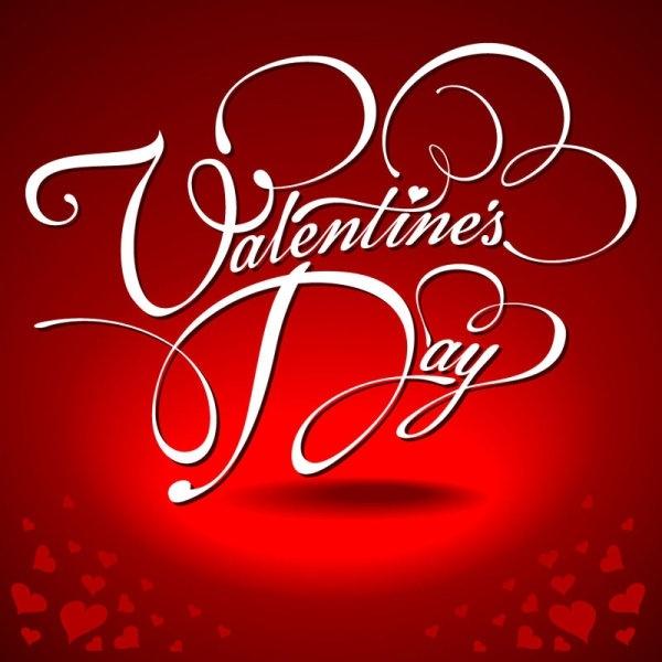 valentine wordart background 04 vector