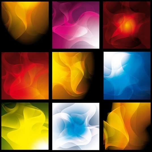 abstract background templates colorful dynamic smoke shapes