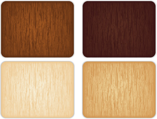 various color wood grain background vector