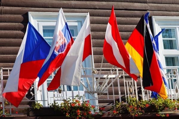 various flags