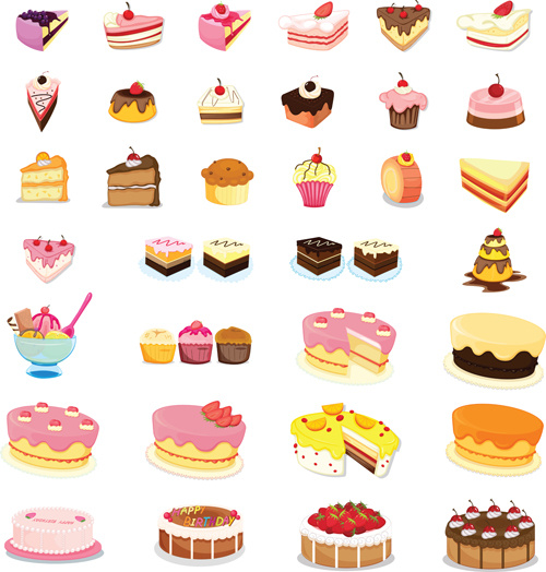 Sweet Cake Cartoon Free Vector Download 19 998 Free
