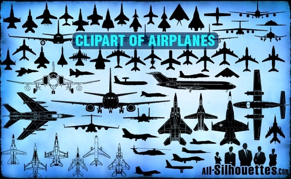 Vector Airplane Clipart Free Vector In Adobe Illustrator Ai Ai Vector Illustration Graphic Art Design Format Format For Free Download 1 05mb