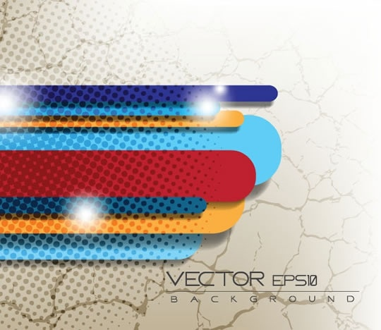 technology background modern sparkling colorful bars decor