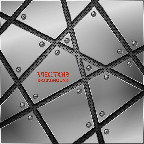 vector background of 02 metallic