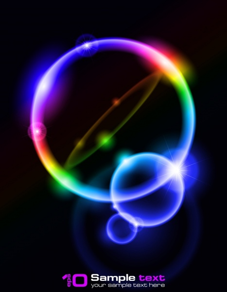 light background colorful sparkling blurred decor