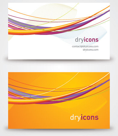 vector business card vector graphic