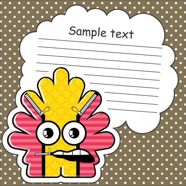 vector cartoon stickers stickers dialog