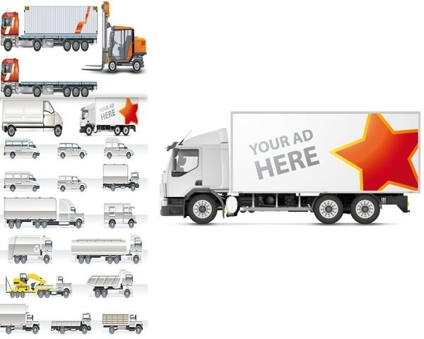 vector collection of transport