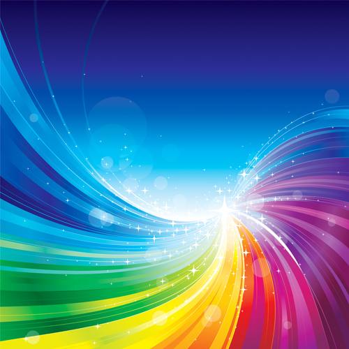 vector colored abstract background art