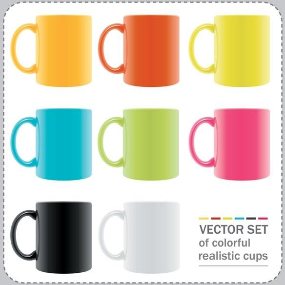 vector colorful mug 155165