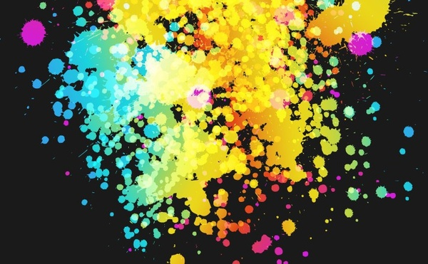 abstract background colorful grunge decoration