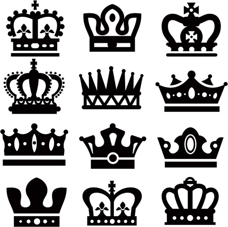 crown silhouette vector free vector download 6 141 free