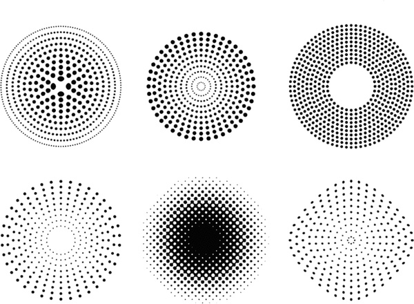 Triangle pattern design halftone vector vector | free download.