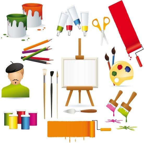 vector drawing supplies