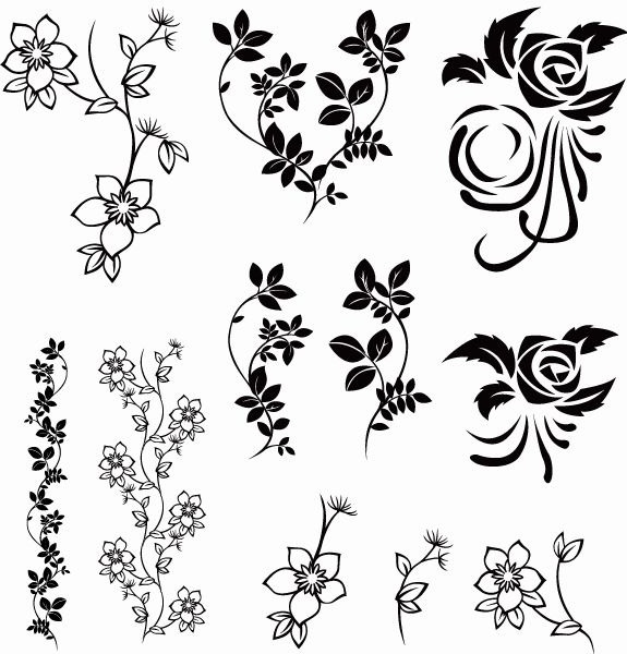 vector floral pack free vector in encapsulated postscript eps eps