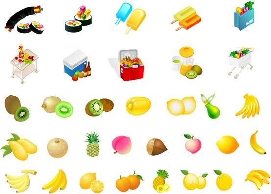 vector fruit diet