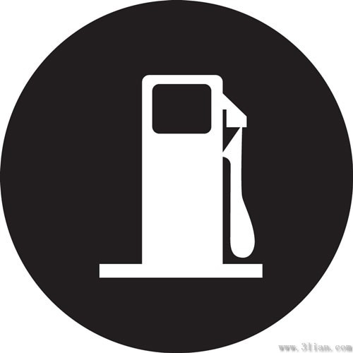 Vector Gas Station Icon Free Vector In Adobe Illustrator Ai