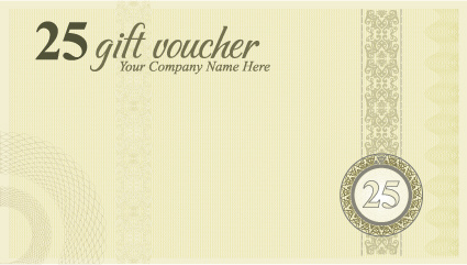 vector gift voucher design template free vector in encapsulated