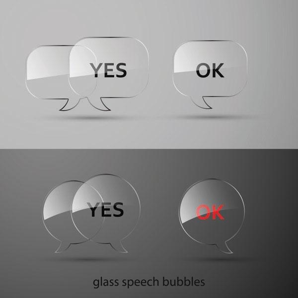 vector glass buttons texture