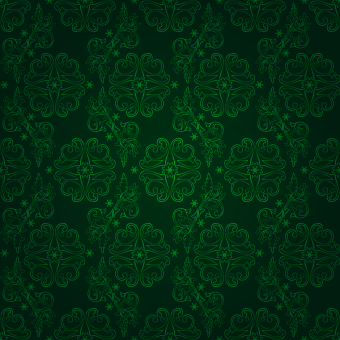 vector green seamless pattern background