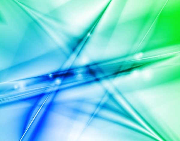 Vector Illustration Of Abstract Blue Green Design Background