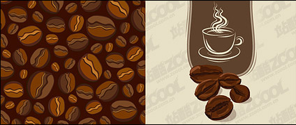 Vector Material Coffee Beans Free Vector In Adobe