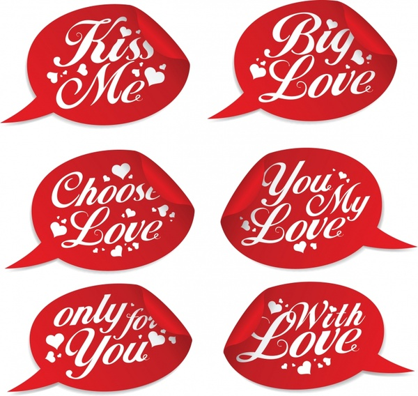 Vector romantic love dialog free vector in adobe illustrator ai vector romantic love dialog altavistaventures Choice Image