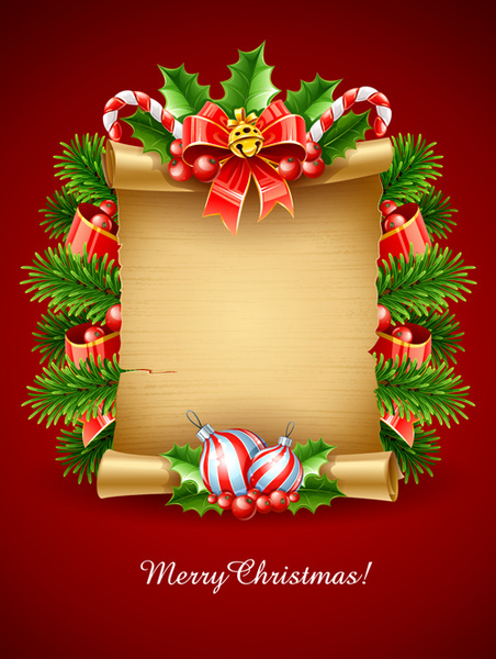 vector set of christmas cards backgrounds art - Art Christmas Cards