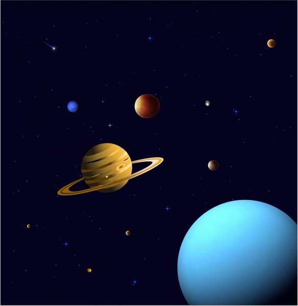 Vector Stars and Planets