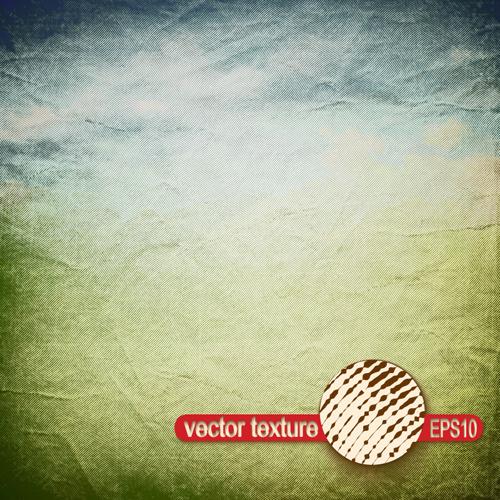 vector texture grunge retro background set