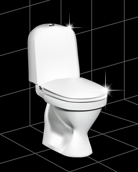 Royalty Free Toilet Clip Art Vector Images: Toilet Free Vector Download (110 Free Vector) For