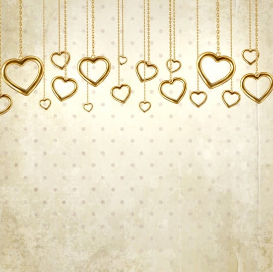 vector valentine card background pendant free vector in encapsulated