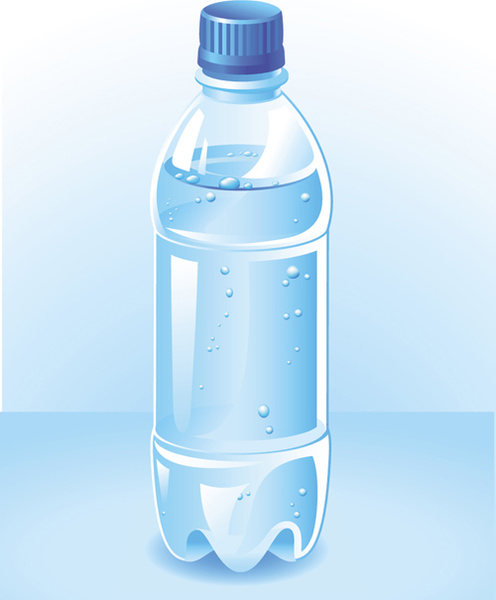 Water Bottle Graphic: Vector Water Bottle Template Free Vector In Encapsulated