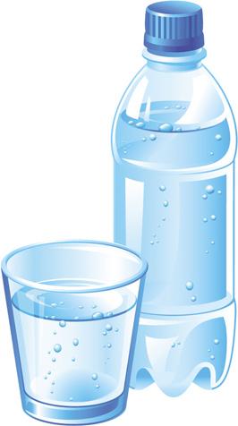 Vector water bottle template free vector in encapsulated postscript vector water bottle template maxwellsz