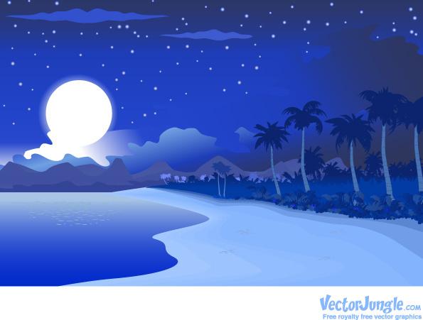 vectors star night