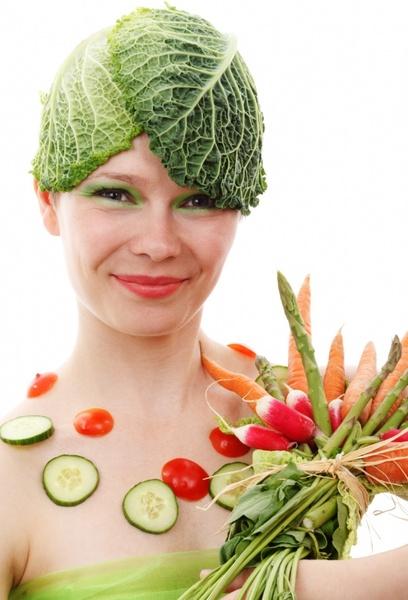 vegetable woman