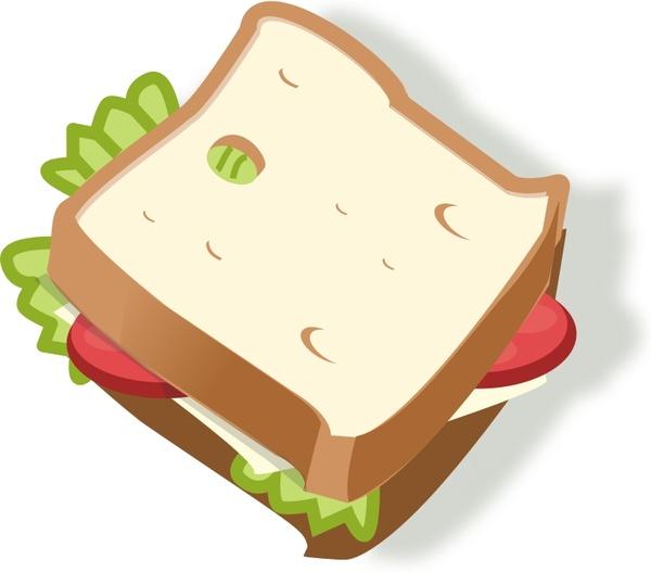 vegetarian sandwich free vector in open office drawing svg