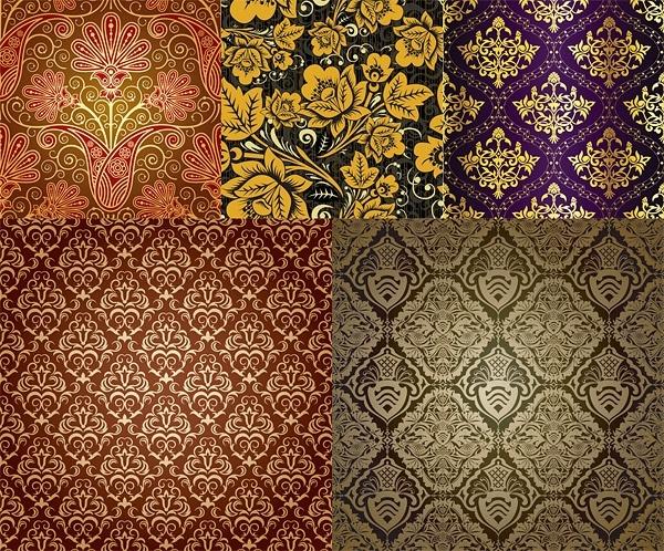 very fine background pattern vector