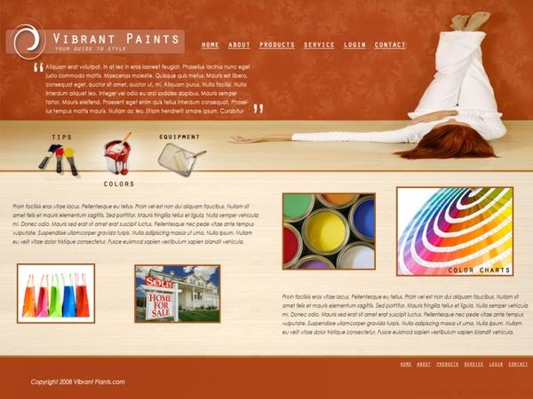 Vibrant Paints
