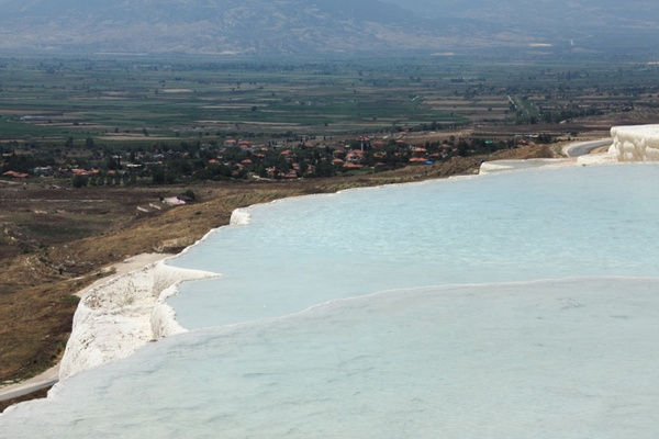 view from pamukkale