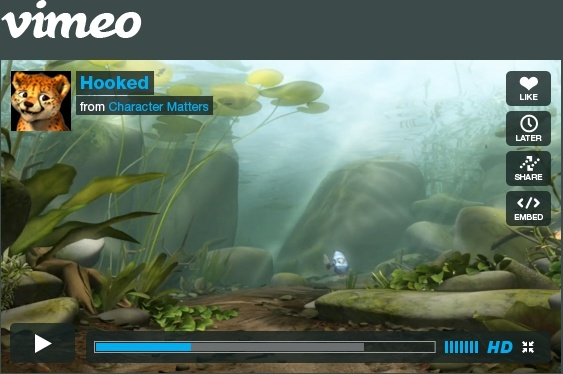 Vimeo Player Free psd in Photoshop psd (  psd ) file format