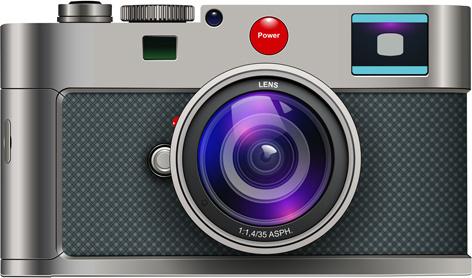 Camera Vintage Vector Free : Vintage camera design illustration vector free vector in