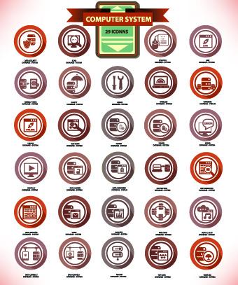 desktop icons Vintage