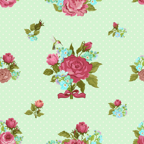 Flower wallpaper pattern free vector download (28,401 Free ...