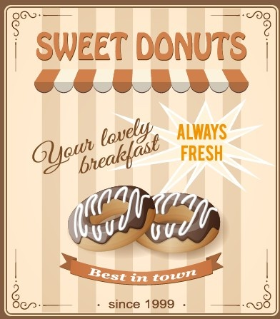Vintage food advertising poster design vector Free vector ...