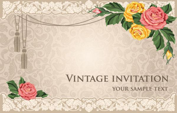Wedding Invitation Background Images Free Download: Invitation Card Design Background Free Vector Download
