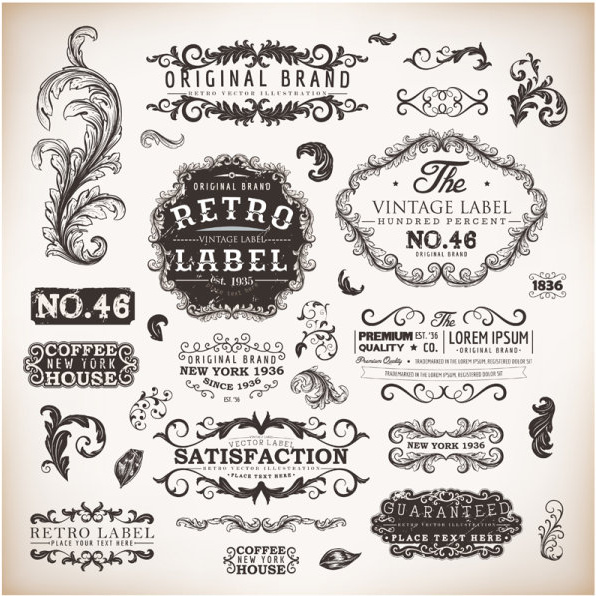 vintage labels and borders vector free vector in adobe illustrator ai   ai   vector religious easter clip art borders easter clip art borders