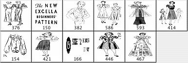 Vintage Pattern Girls