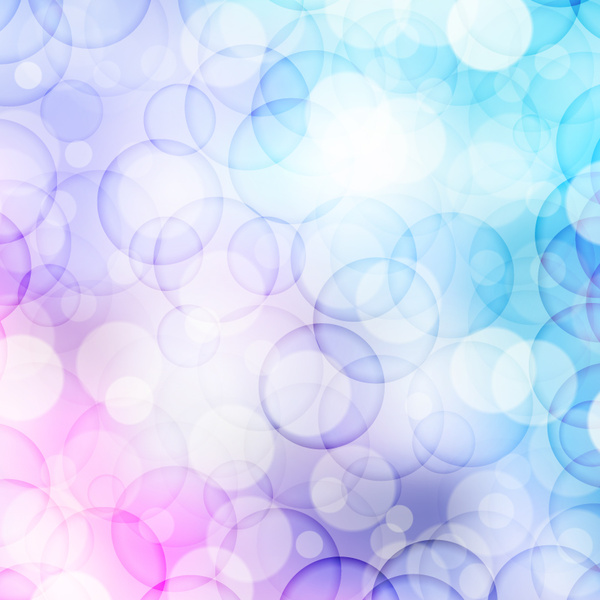 Violet And Blue Circle Abstract Background Free Vector In