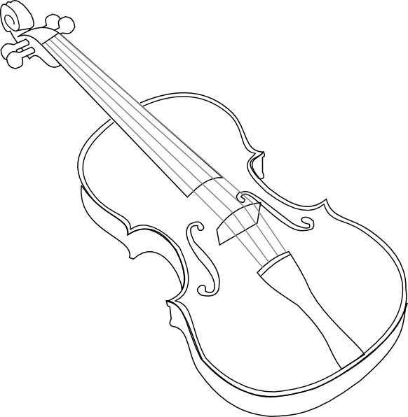 Violin Clip Art Free Vector In Open Office Drawing Svg